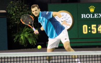 ROLEX PARIS MASTERS : Completate le quali, P.H. Mathieu ultimo match