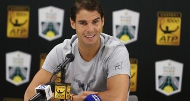 """ROLEX PARIS MASTERS : Rafael Nadal """"La Catalogna ? E' difficile parlarne senza essere male interpretato"""""""