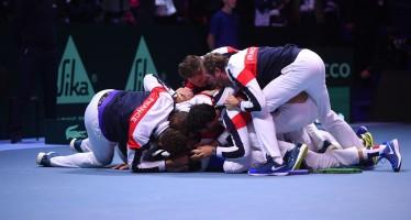 COPPA DAVIS : Trionfa la Francia decide Lucas Pouille