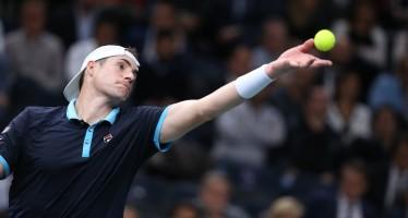 ROLEX PARIS MASTERS : John Isner in semifinale, Del Potro addio Londra