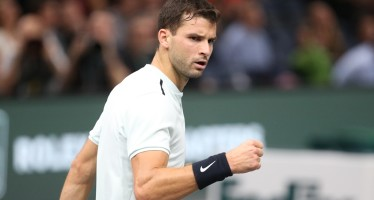 ROLEX PARIS MASTERS : Dimitrov troppo forte per Gasquet, Sock stende Edmund
