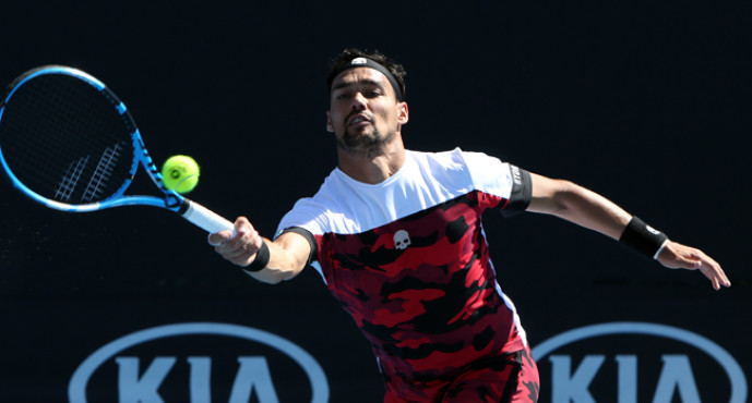 ATP 500 RIo de Janeiro : Fabio Fognini annulla un Match-point e vola ai quarti