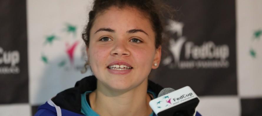 """FedCup Italia-Spagna 0-1 : Jasmine Paolini """"Mi mancano partite a questo livello"""""""