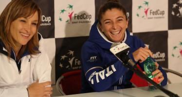 "FedCup Italia-Spagna 1-1 Tathiana Garbin ""Sara una leader"""