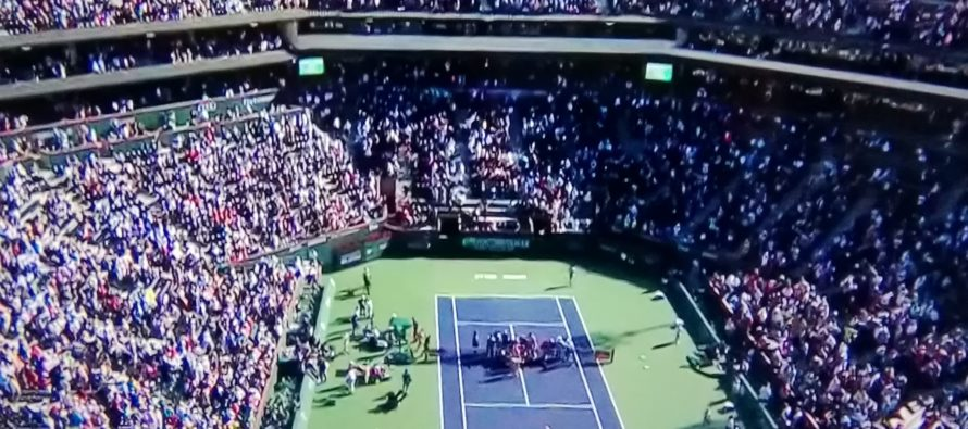 INDIAN WELLS. FORZA E DEBOLEZZA DEL RE.