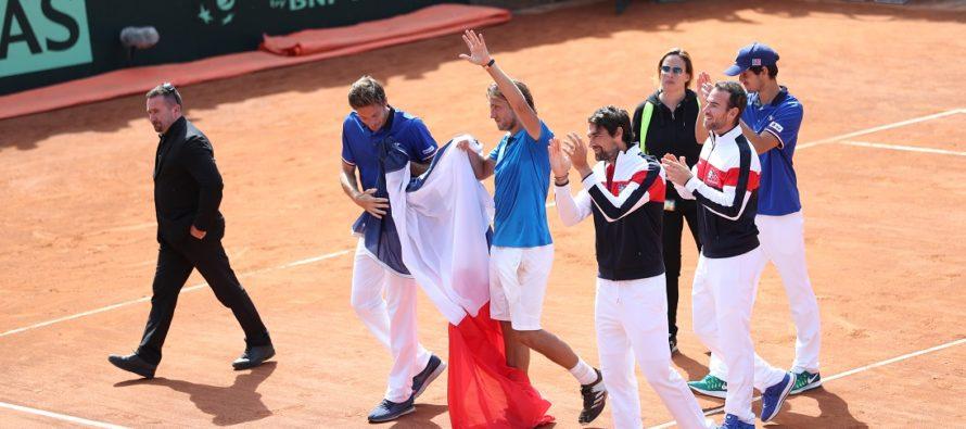 DAVIS ITALIA FRANCIA 1-3 : Francia in semifinale