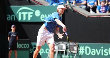 DAVIS ITALIA-FRANCIA : Seppi risorge all'Italia il terzo set