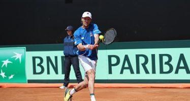 DAVIS ITALIA-FRANCIA : Quinto set decisivo