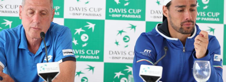 """DAVIS ITALIA-FRANCIA 1-3 : Fabio Fognini """"Oggi ho dato tutto"""""""