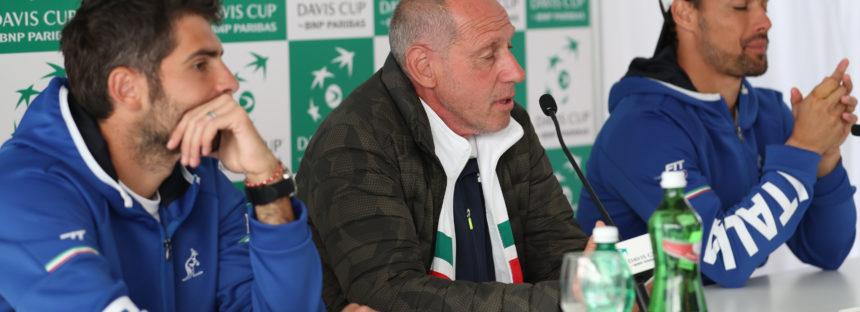"""DAVIS ITALIA-FRANCIA 1-2 : Barazzutti """"Dopo il primo set i ragazzi non sono più stati in partita"""""""