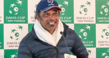 """DAVIS ITALIA-FRANCIA 1-1 :Yannick Noah """"In Davis ogni punto è importante"""""""