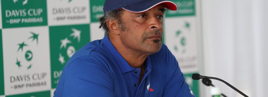 Yannick Noah dice no all'annunciata riforma della Coppa Davis