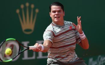 Monte-Carlo : Milos Raonic fatica contro Lucas Catarina