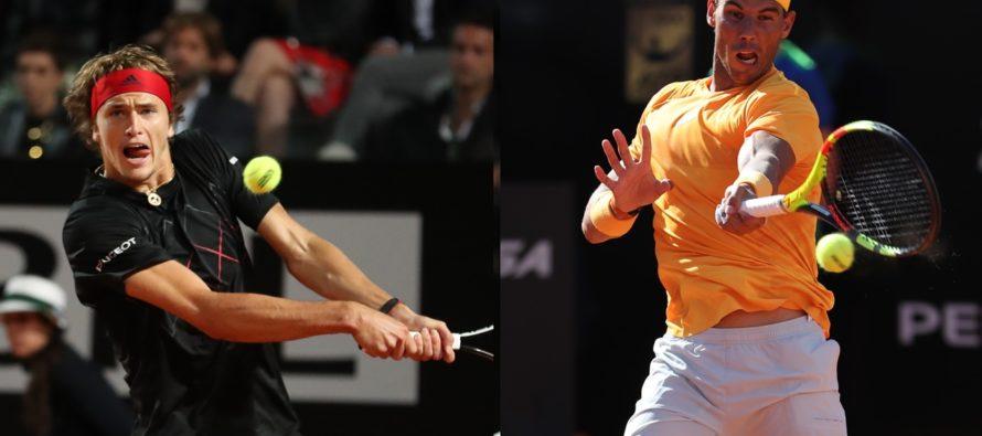 Roma 2018 : Nadal o Zverev ?