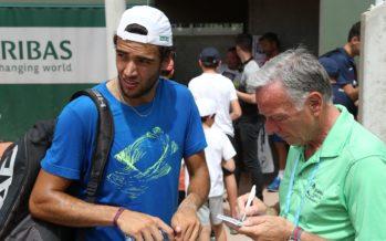 Roland Garros : Matteo Berrettini subito in campo contro Oscar  Otte