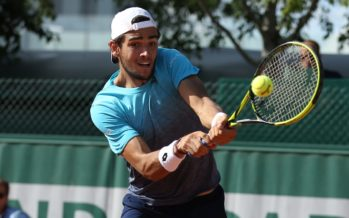 Roland Garros :  Matteo Berretini domina Gulbis