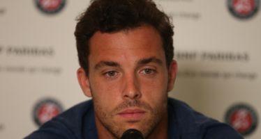 """Roland Garros : Marco Cecchinato """"Oggi mi sentivo dentro il match"""""""