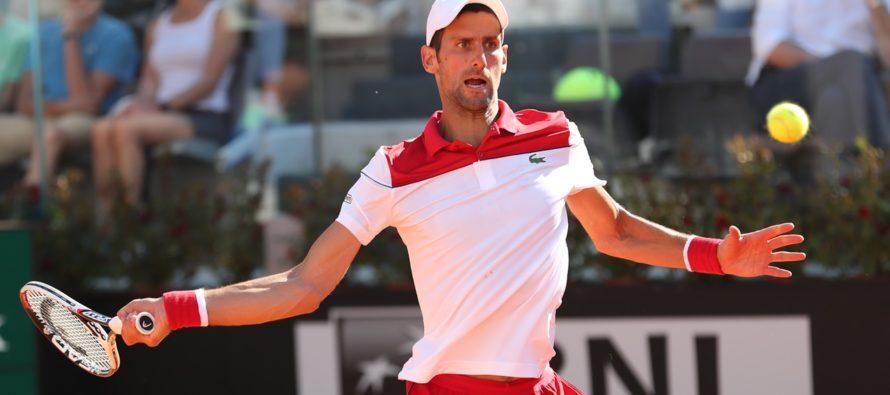 "Roma 2018 : Novak Djokovic ""Rafa ha giocato meglio i punti importanti"""