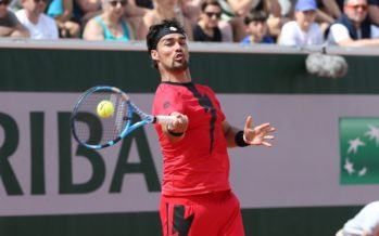 Roland Garros :  Fabio Fognini agli ottavi eliminato Edmund in 5 set