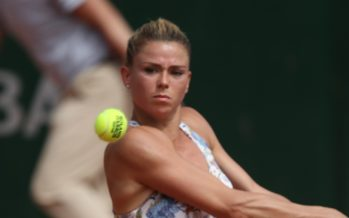 Roland Garros :  Camila Giorgi lotta alla pari con la Stephens