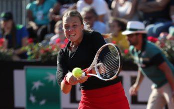 Roma 2018 : Ann Kontaveit domina Caroline Wozniacki