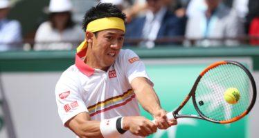 Roland Garros :  Nishikori si salva al quinto, 5 set anche per Zverev