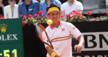 Roma 2018 : Nishikori si offre Dimitrov