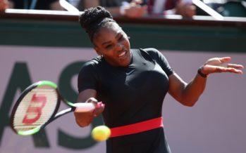 Roland Garros : Serena Williams ritorno alla vittoria