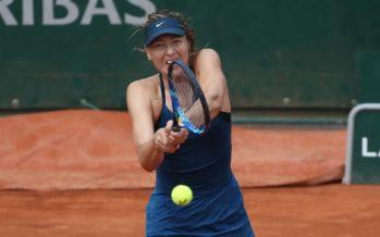 Roland Garros :  Maria Sharapova al terzo turno avanti anche Garcia e Pliskova