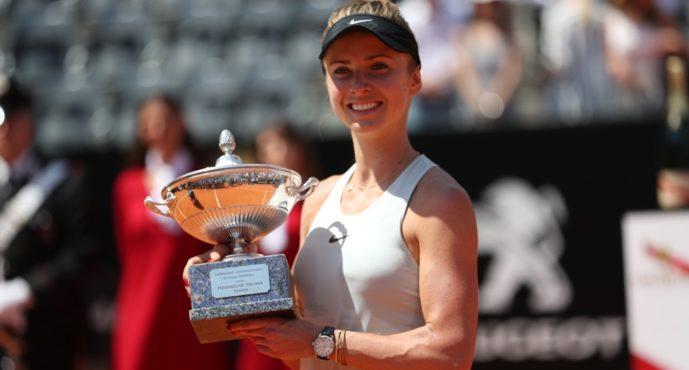 Roma 2018 : Elina Svitolina imbattibile in finale