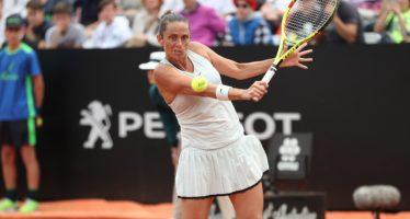 Roma 2018 : Roberta Vinci addio al tennis