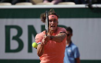 Roland Garros : Zverev sul velluto, facile Dimitrov, i risultati
