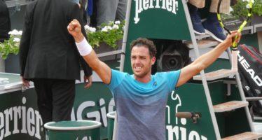 Roland Garros : Cecchinato la favola senza fine