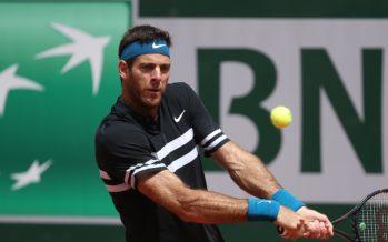 Roland Garros :  Del Potro è tornato, out Cilic