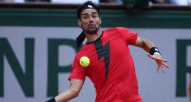 Roland Garros : Fognini cede al 5° contro Cilic