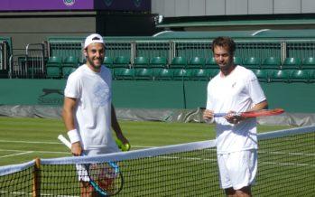 WIMBLEDON : Nove i tennisti italiani, record per uno Slam