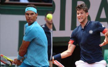 Roland Garros :   Nadal – Thiem la sfida finale