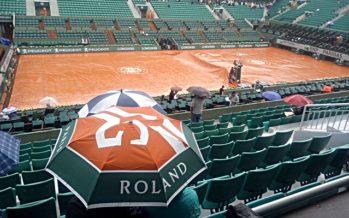 Roland Garros :  Stop per pioggia, Nadal sotto di un set