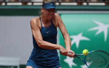 Roland Garros :  Maria Sharapova spazza via Pliskova