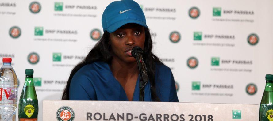 "Roland Garros :  Sloane Stephens ""Oggi la migliore ha vinto"""