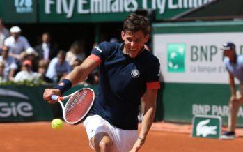 Roland Garros : Thiem in finale, Cecchinato alla pari per due set,