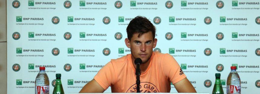 """Roland Garros :   Dominic Thiem"""" Ho dato tutto quello che avevo"""""""