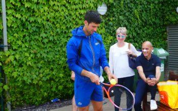 WIMBLEDON : Novak Djokovic in equilibrio, pronto per il 4° titolo