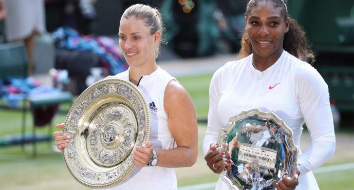 Wimbledon : Angelique Kerber regina di Wimbledon, Serena cede in finale