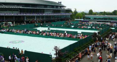 Wimbledon:  Rain delay Fabbiano avanti due set a zero