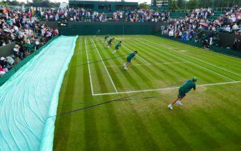 Wimbledon : 22 secondi per coprire i campi