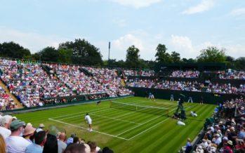 Wimbledon:  Camila e Fabbiano in campo, Federer e Serena sul Centrale