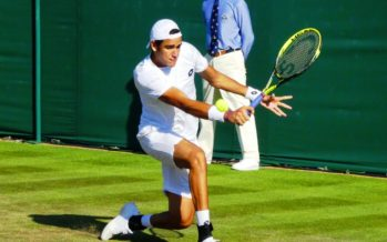 Wimbledon: Matteo Berrettini recupera due set e batte Sock