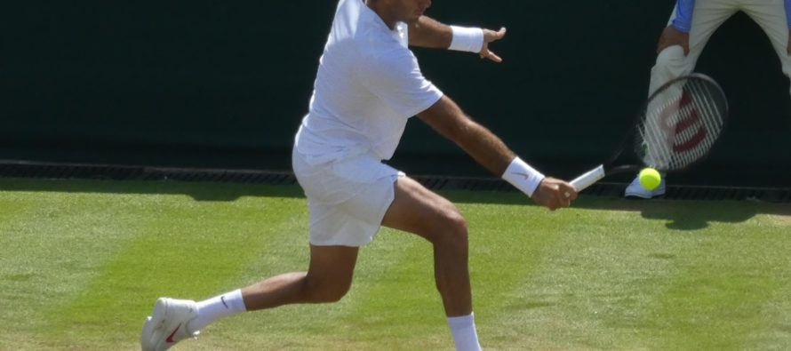 Wimbledon:  Del Potro supera Paire