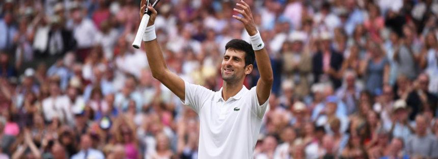 Wimbledon : Novak Djokovic re di Londra, annullato Anderson